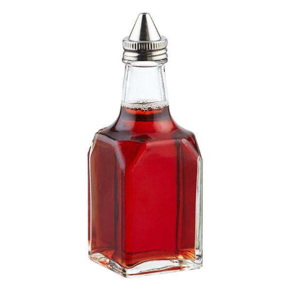 glass oil vinegar cruet the container store vinegar cruet cruet glass food storage on kitchen organization oil and vinegar id=58845