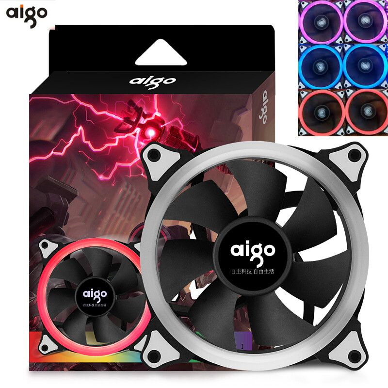 Aigo Rgb Computer Water Cooler Fan Water Cooler Fan Fan Price