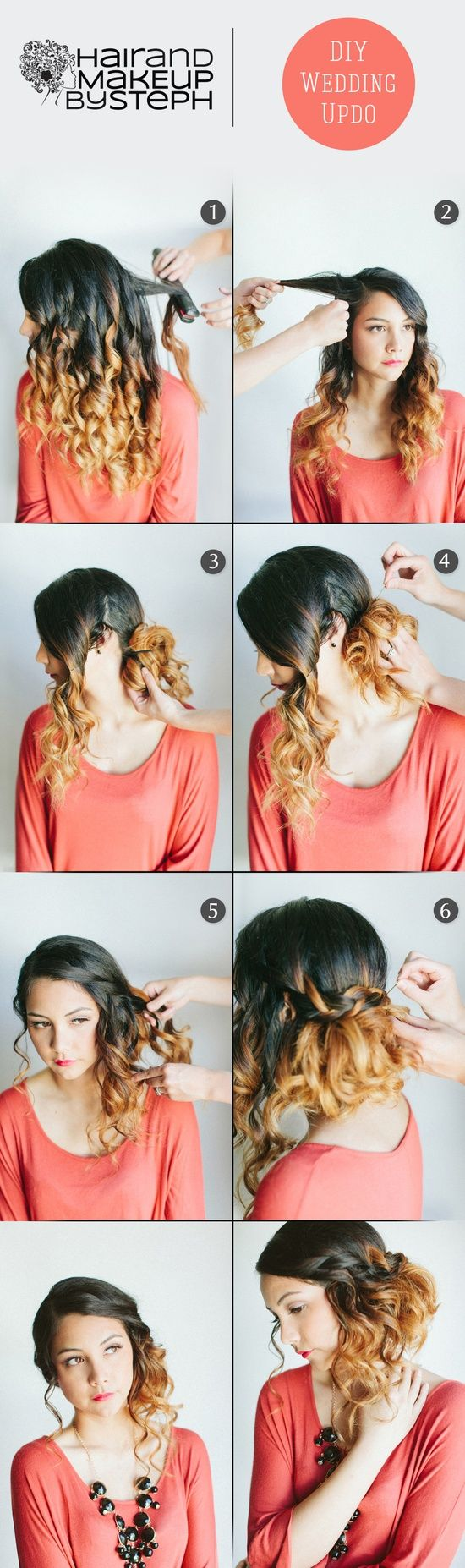 Wedding hair step by step hairdo pinterest french braid hair