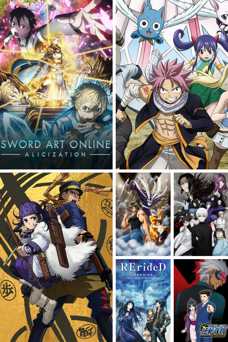 Fall 2018 Anime MustWatch List What You Should Be