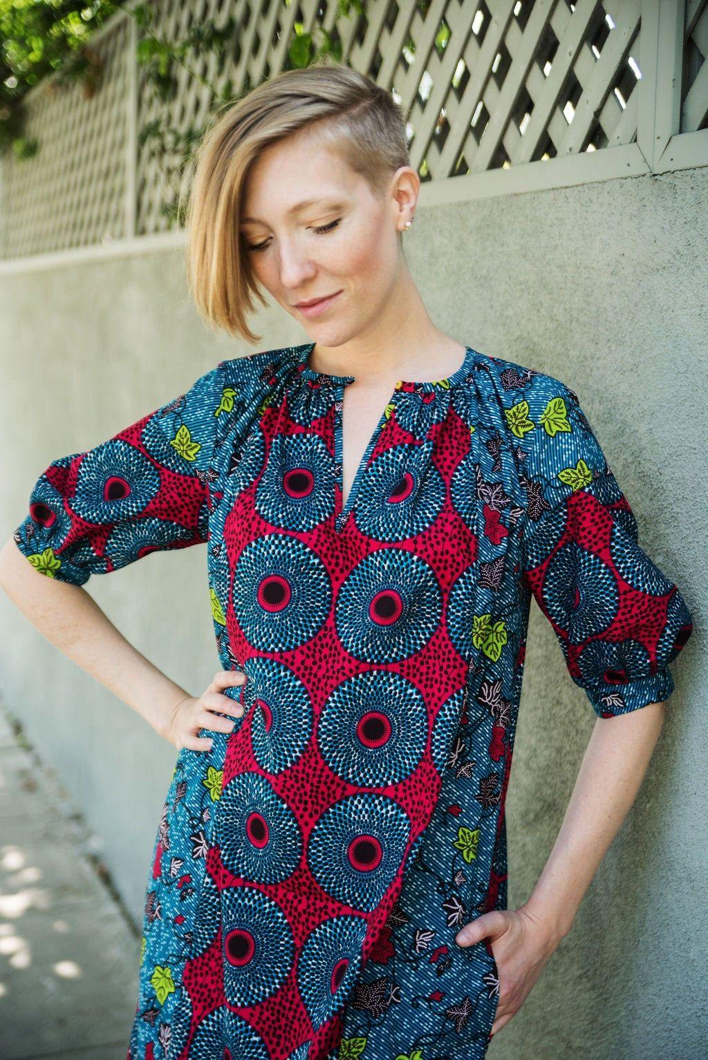 Park Art|My WordPress Blog_Cotton Shirt Dress With Pockets