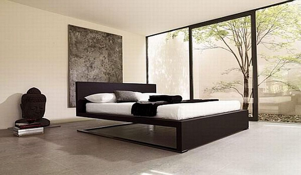 Contemporary Bedding | Modern Minimalist Double Bed Slim and Stylish  Design, Urano by .