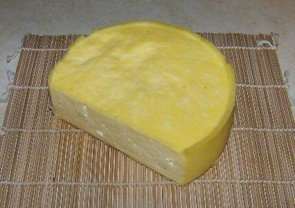 Homemade Cheddar Cheese