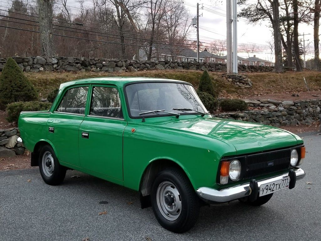 Moskvitch full of history and nostalgia of a childhood in
