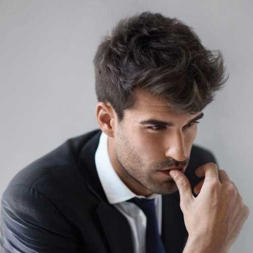 Awesome Messy Hairstyles for Business Men | Guy Hair | Pinterest ...