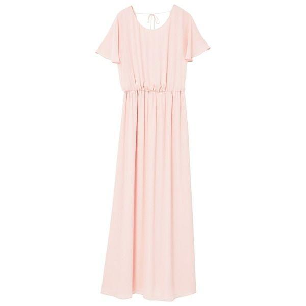 Pin von Très Click auf Millennial Pink   Rosa kleid lang ...