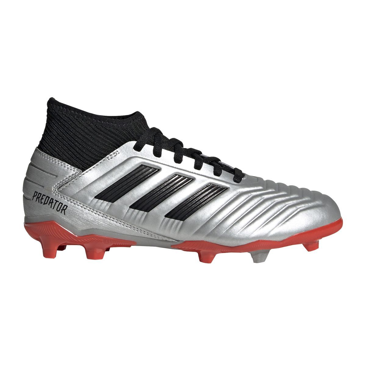 latest design new cheap crazy price Chaussures Football Predator 19.3 Fg Gris - Taille : 37 1/3 ...