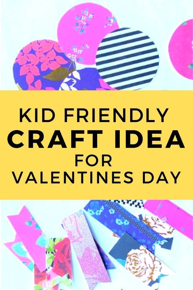 Photo of Easy Kid Friendly DIY Craft Idea for Valentines Day