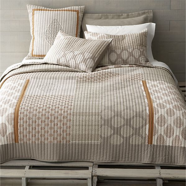jaipur bed linens in all decorative bedding | crate and barrel