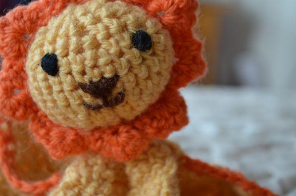 Little Amigurumi Lion : The little lion king lions blanket and crochet