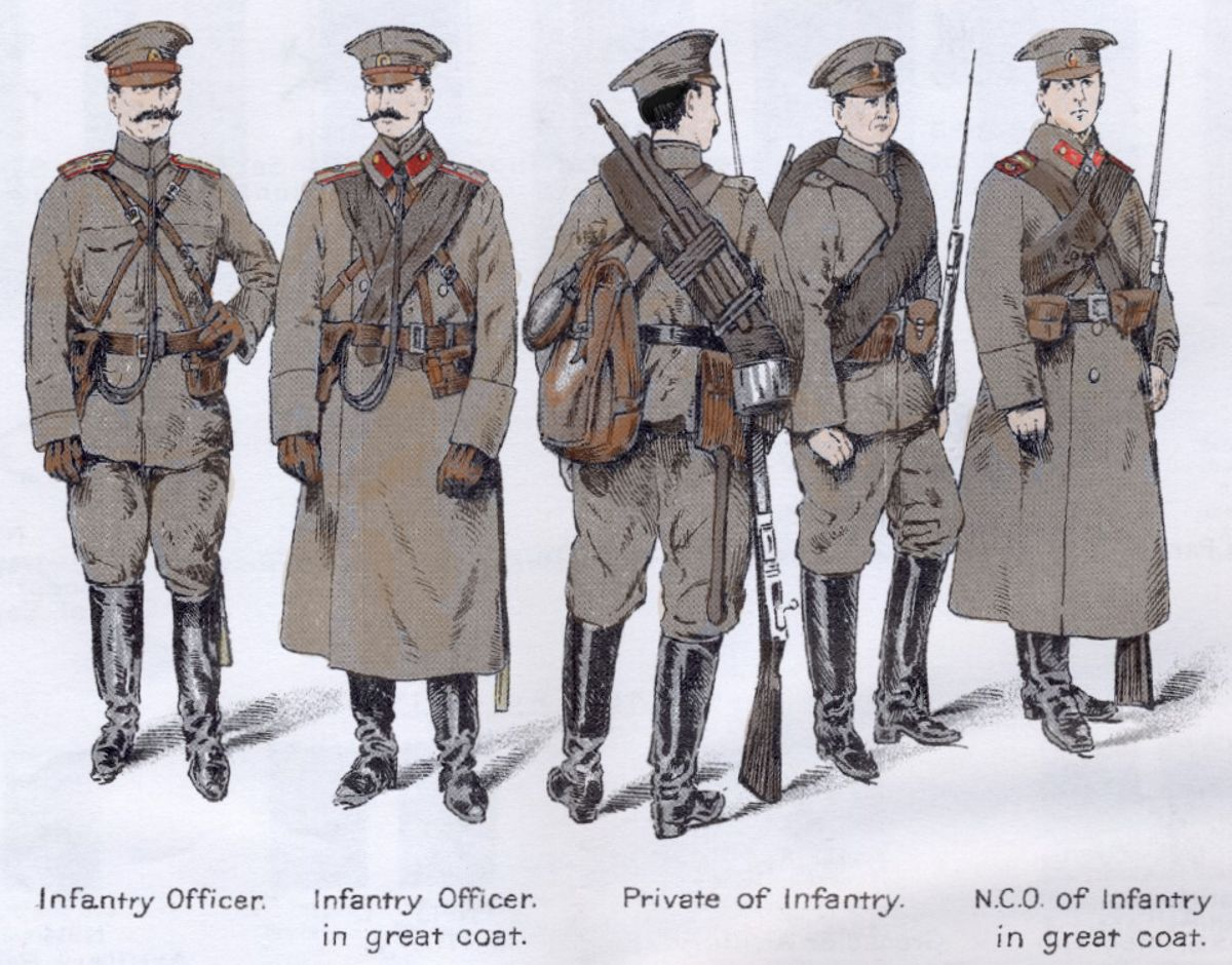 russian soldiers russian civil war white guard the
