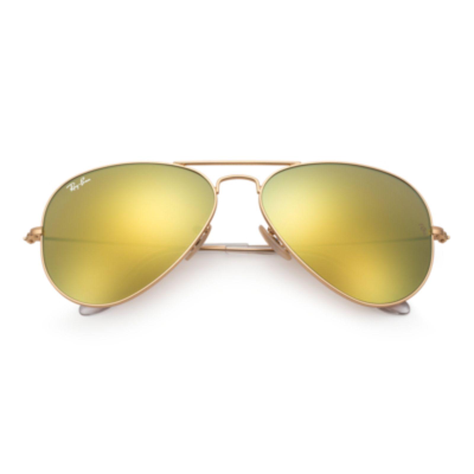 d74ad03e2 Óculos De Sol Ray-Ban Aviator Lentes Espelhadas Ouro   Products ...