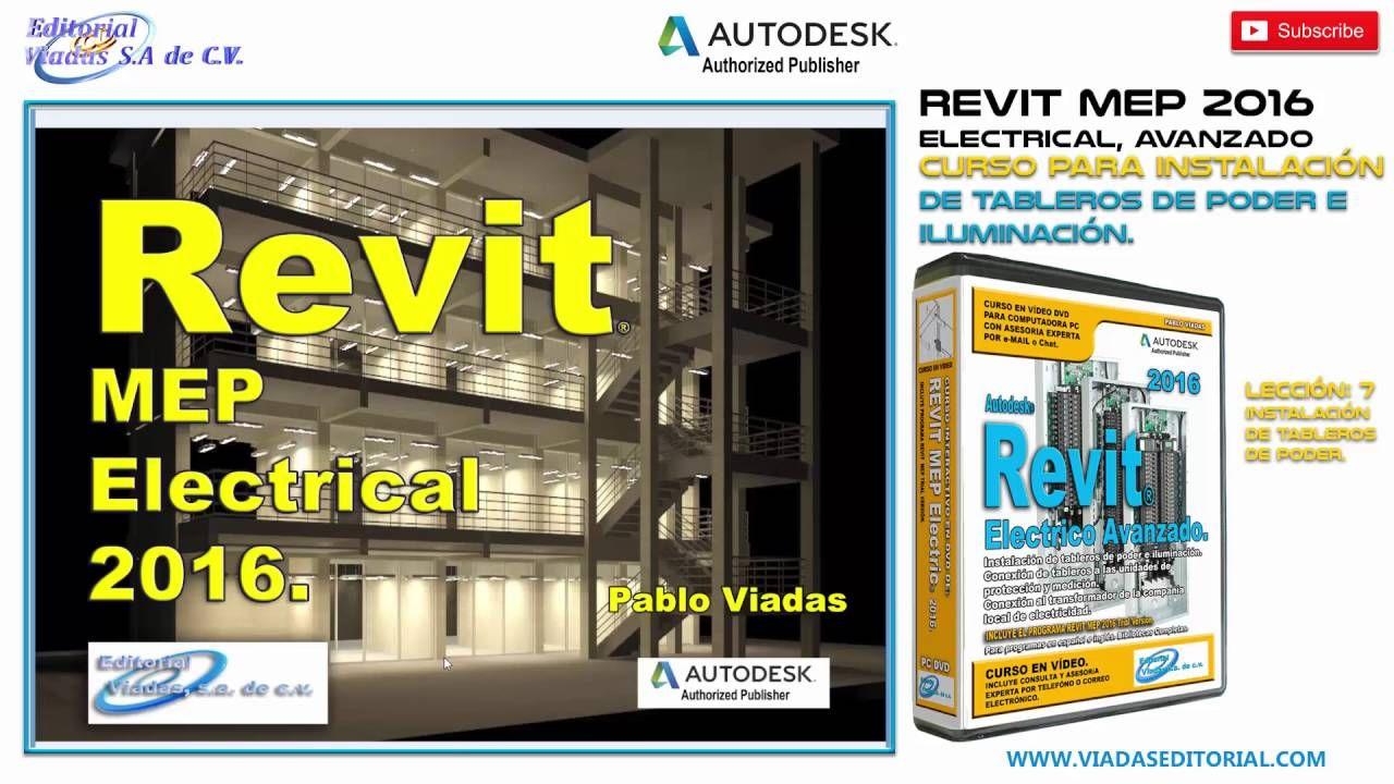 Revit 2016 Mep Electrical Avanzado Curso | Tutorial en Español:  Leccion 7