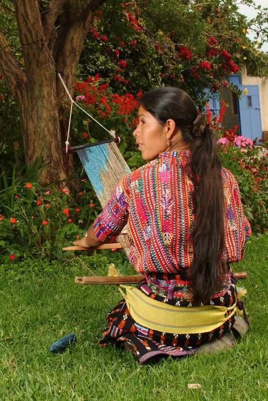 Maria, form a Mayan women's cooperative in the highlands ...