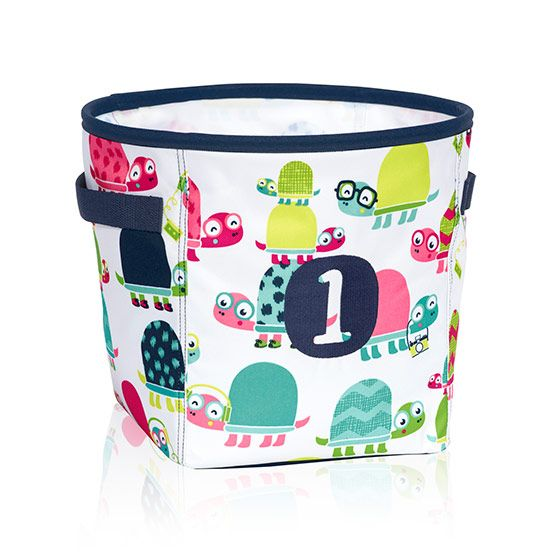 Mini Storage Bin Topsy Turtles