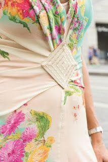 Patrón gratis: vestido de verano y bolso de polipiel (Bernina) - yo elijo Coser