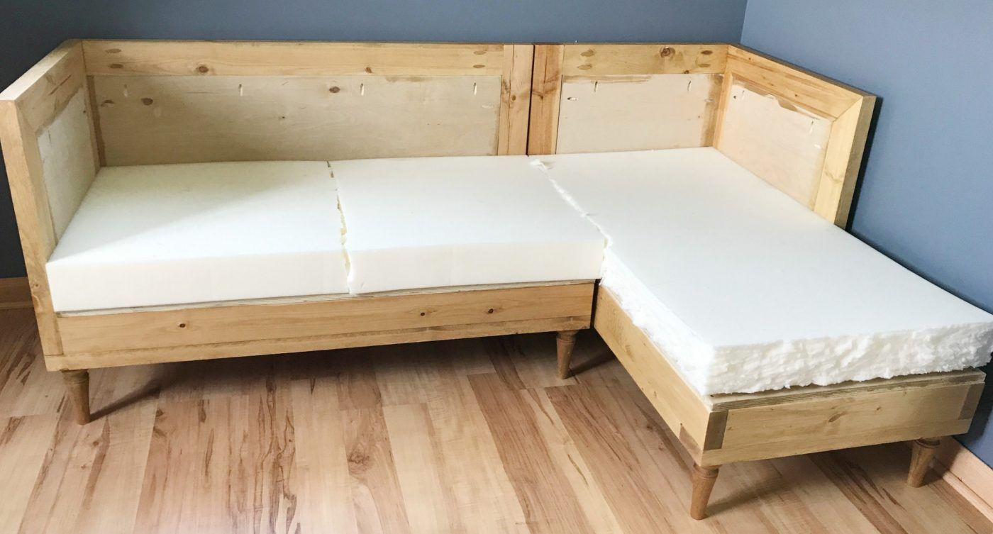 Diy Couch How To Build And Upholster Your Own Sofa Upholstered Couch Diy Furniture Couch Diy Couch