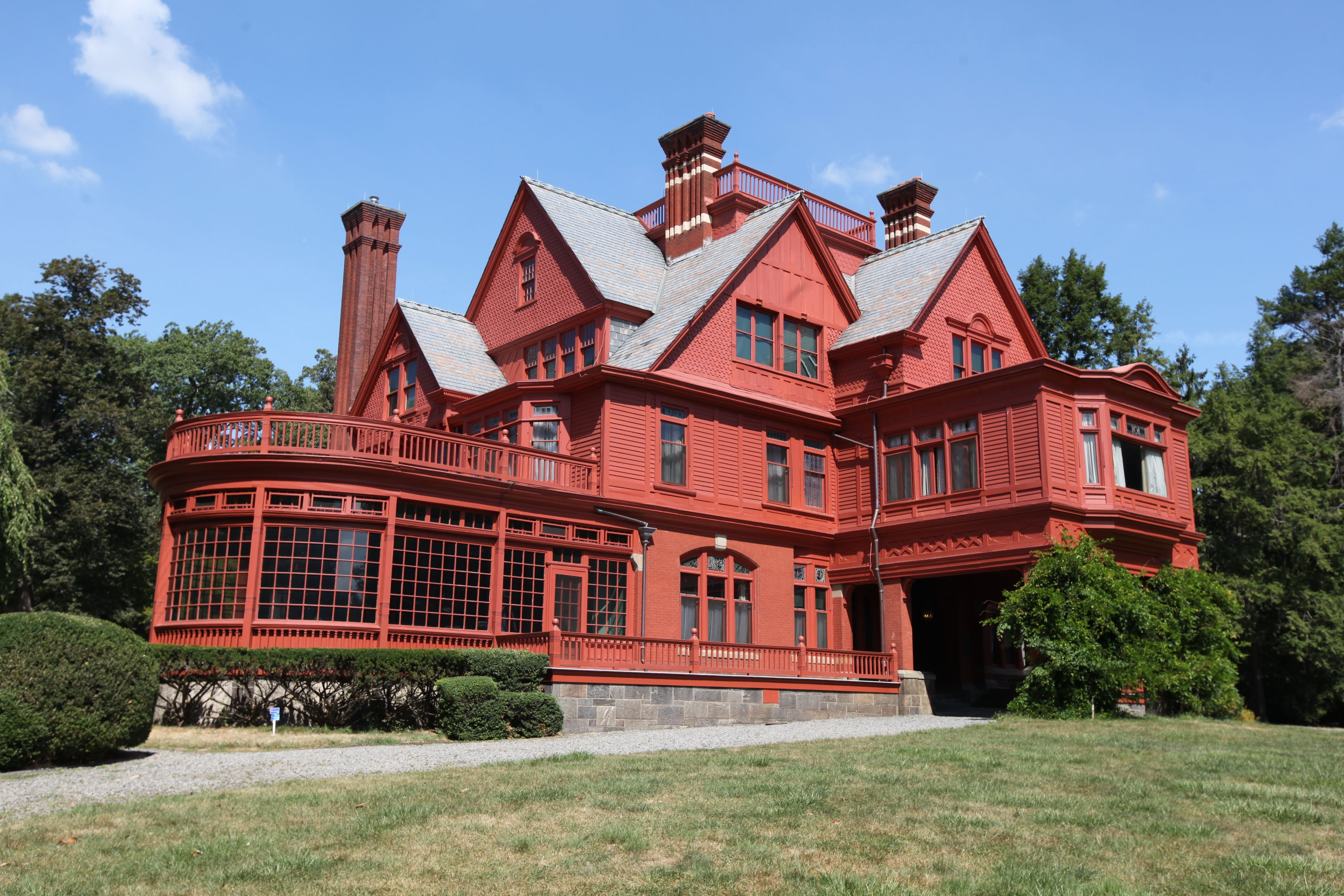 Glenmont, Llewellyn Park, Home Of Thomas A Edison In West