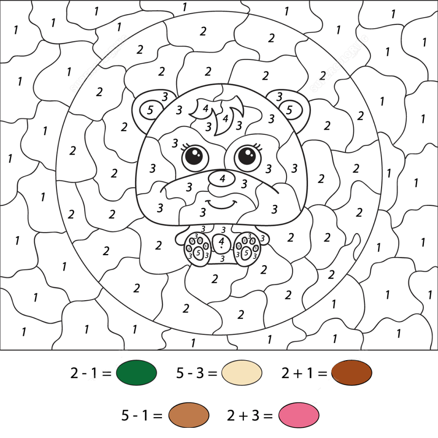 Color By Numbers Worksheets Cute K5 Worksheets Free Printable Coloring Pages Coloring Pages For Kids Free Printable Coloring