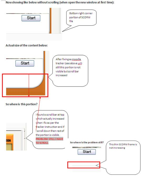 Moodle in English: Problem with SCORM frame size (do not