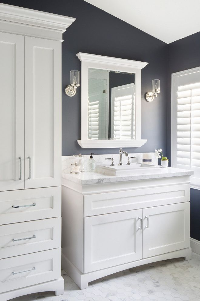 navy and white bathroom 17 bathroom mirrors ideas decor amp design inspirations 19721