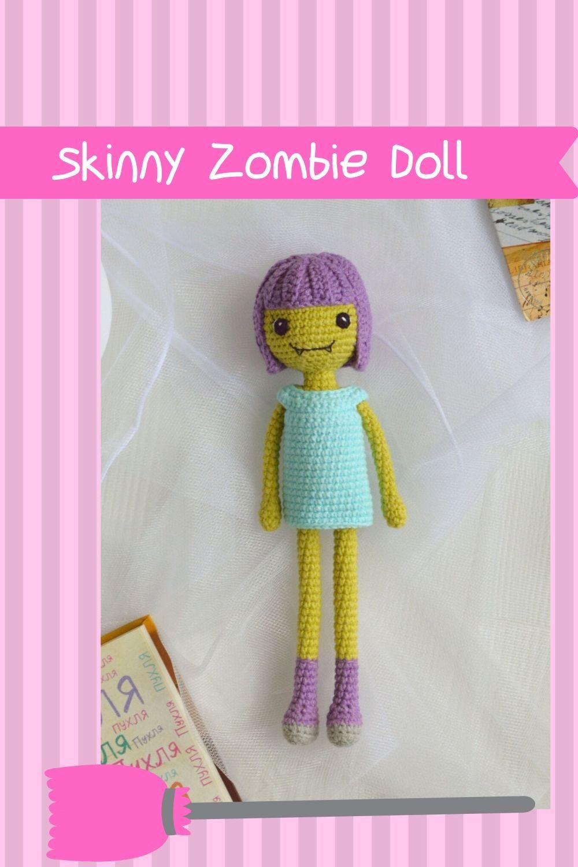 PATTERN Zombie boy crochet pattern amigurumi pattern pdf