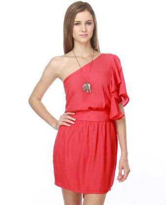 Coral summer dresses for juniors