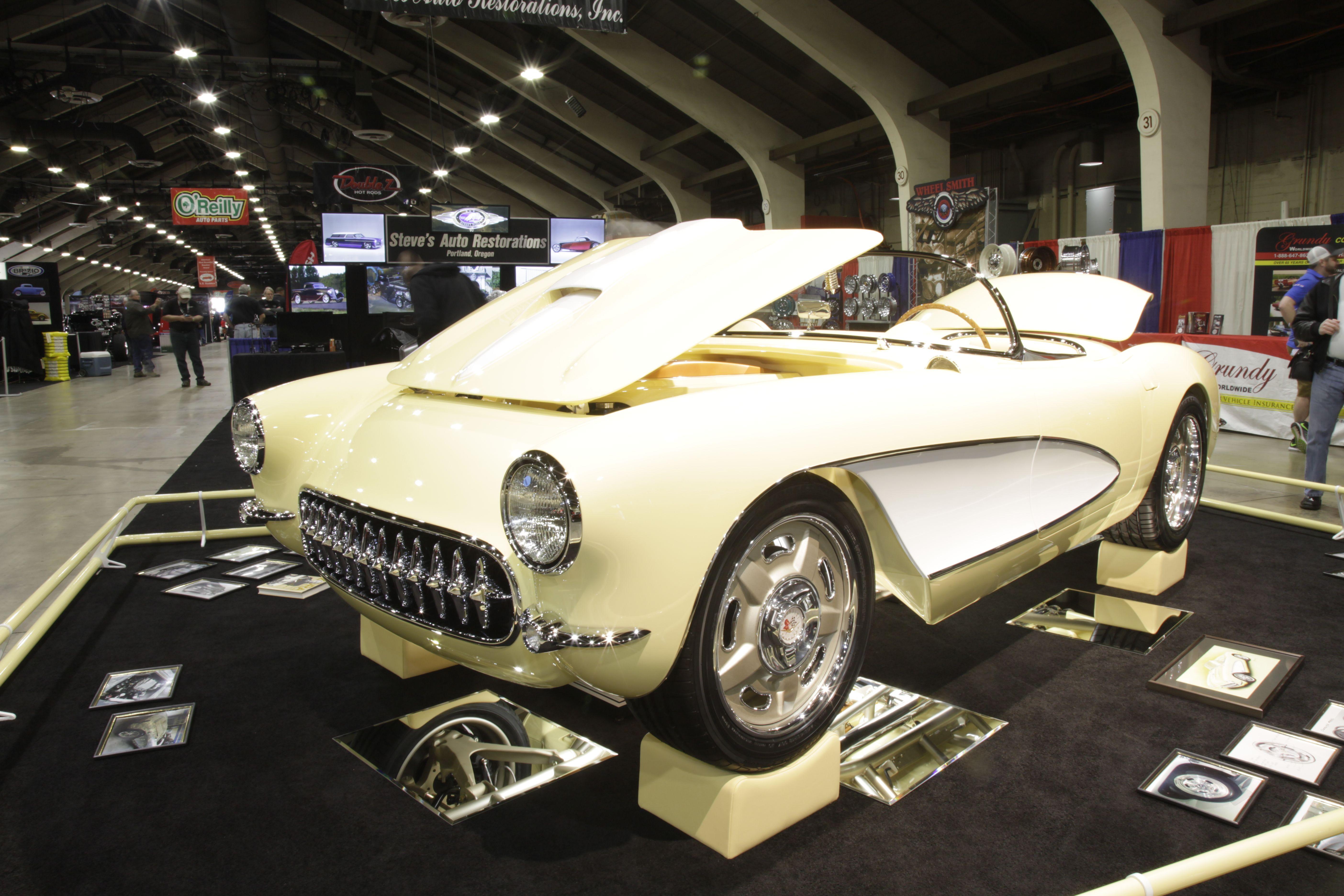 Bei Grand National Roadster Show. Es ist ein K&N