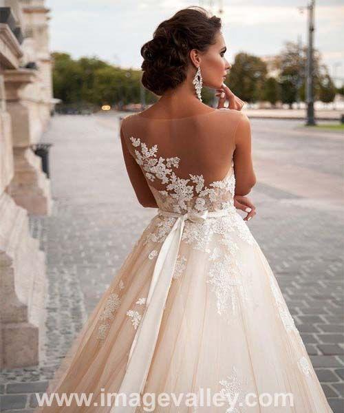Beautiful Lace Wedding Dress 2016   Image Valley