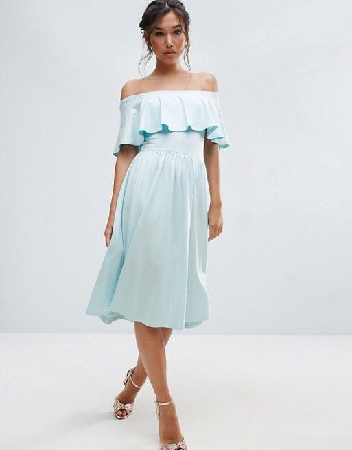 Discover Fashion Online | ASOS | Pinterest | Midi skater dress ...