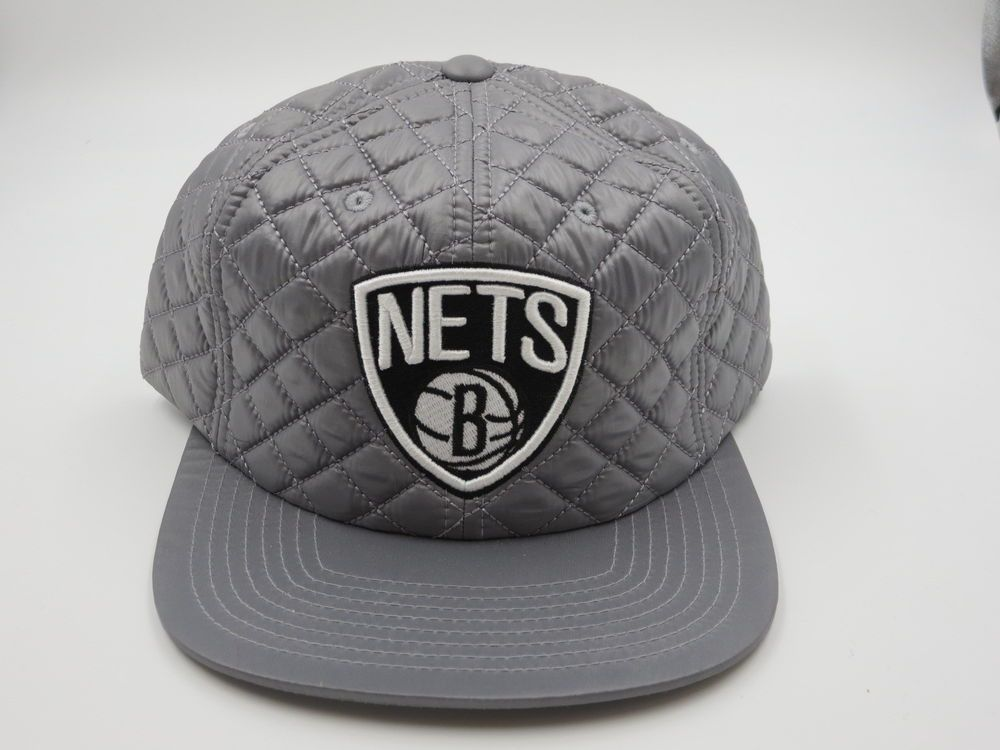 best website 5574c 47cdb ... promo code for brooklyn nets hip hop gray throwback mitchell ness nba snapback  hat cap mitchellness