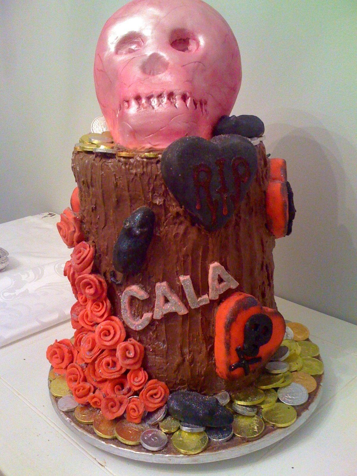Cala's 30th birthday Pirate Party cake!