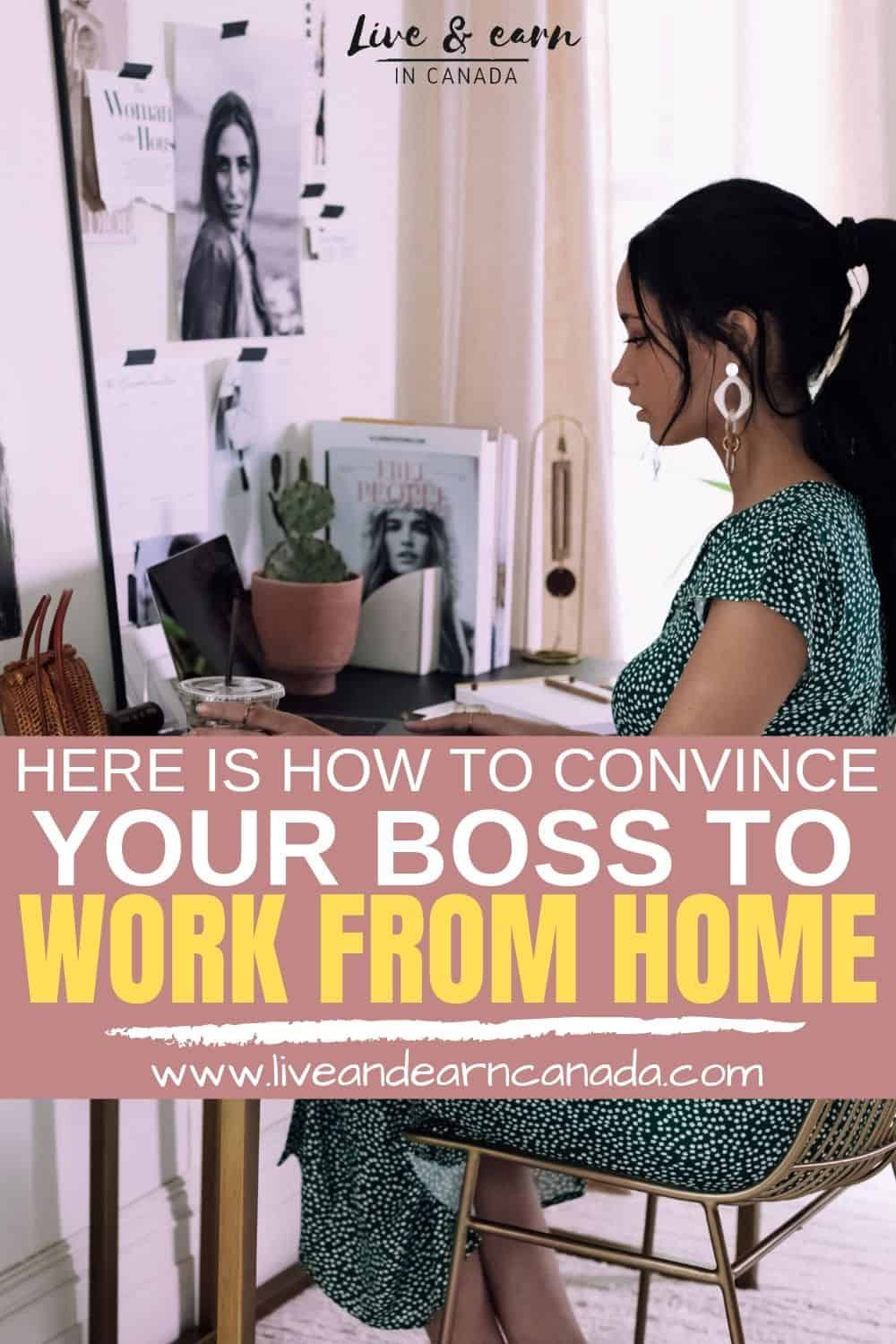 How to Convince Your Boss to Let You Work PartTime from