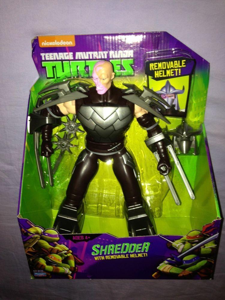 Teenage Mutant Ninja Turtles Shredder Removeable Helmet 11 Inch