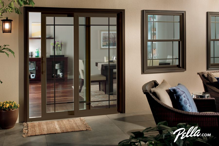 Pella 350 Series Windows Vinyl Windows Pella Com Pella Doors Patio Doors Contemporary Patio
