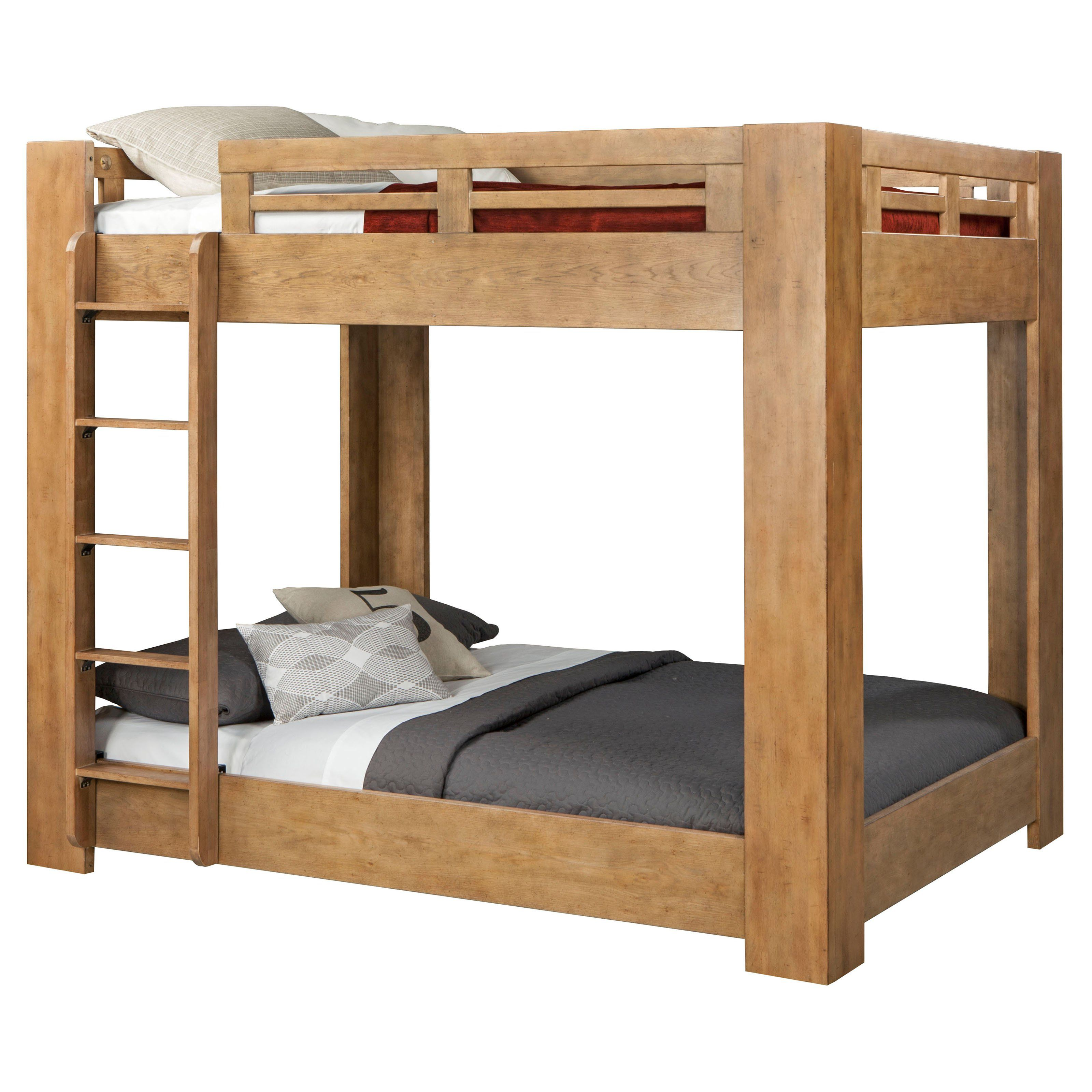 American Woodcrafters Natural Elements Full Over Full Bunk Bed