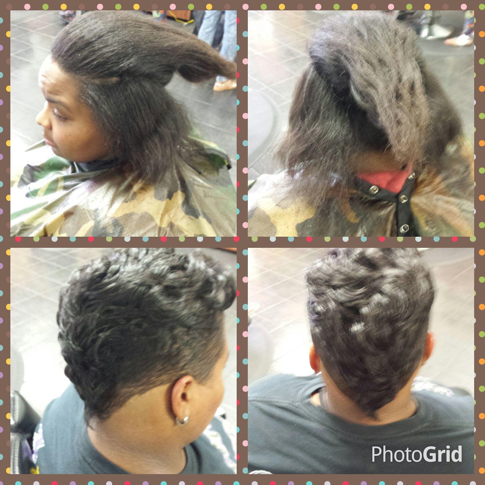 Short Haircut Makeover At Trendz By Tammy Hair Salon Houston Pearland Tx Black Hair Salons Short Hair Styles Pixie Pixie Haircut