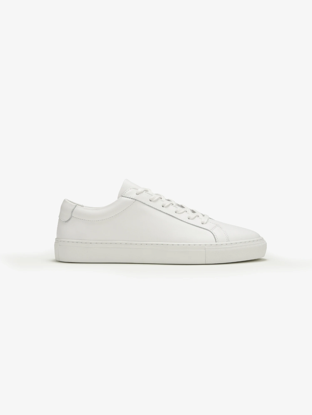 full leather sneakers