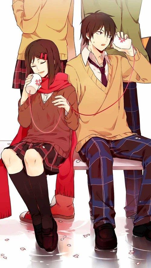 Art Kawaii And انمي رومانسي Image Kagerou Project Kagerouproject Shintaroandayano Animdlove Animekawaii Love Cute Anime Kagerou Project Anime Romance