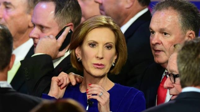 Fiorina under attack from left on gay marriage comments | TheHill