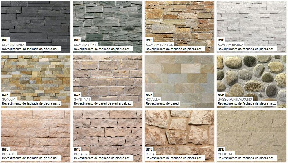 Fachadas de piedra de casas modernas fotos de fachadas - Piedras para fachadas ...