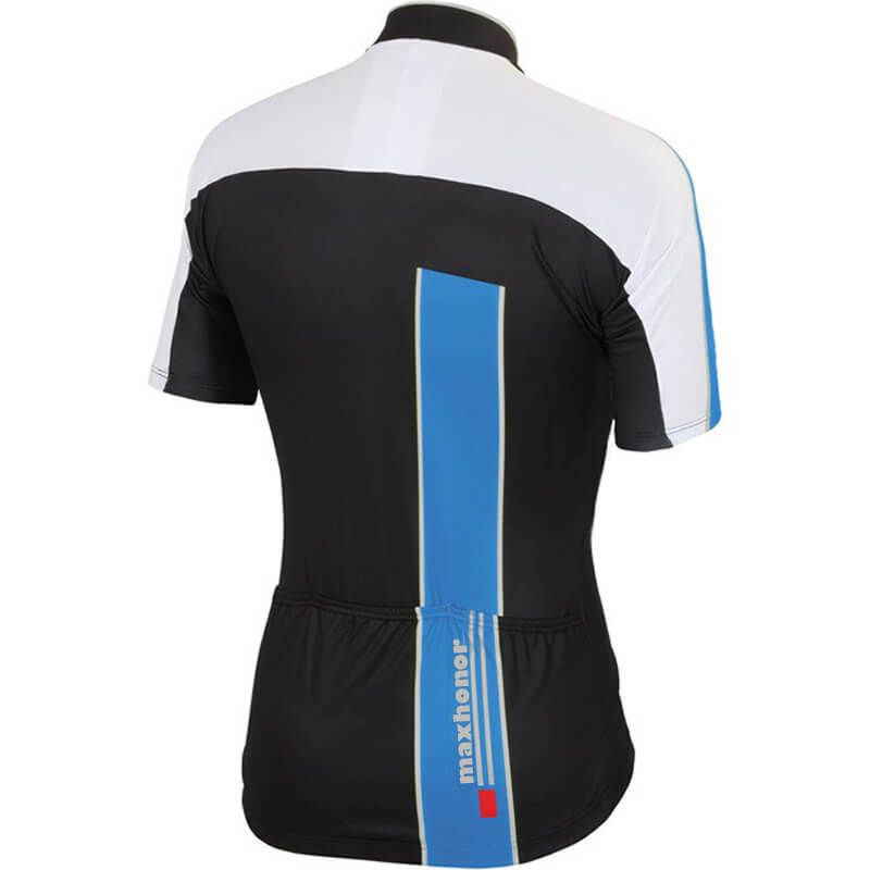 7a4977f2d Maxhonor Team Pro Cycling Jersey Blue White