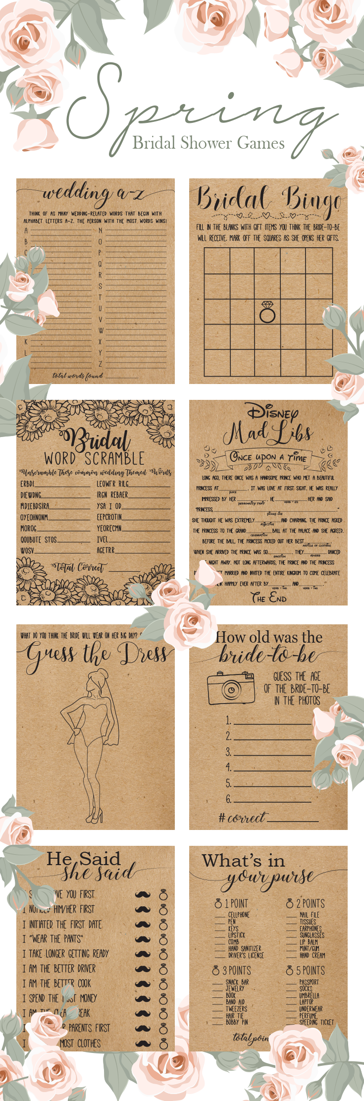 guess who bridal shower game printable%0A Would She Rather Bridal Shower Game  Bridal Shower Game  Bachelorette  Party  Bachelorette Games  What Would the Bride Do Game  Bridal Games   Bridal  shower