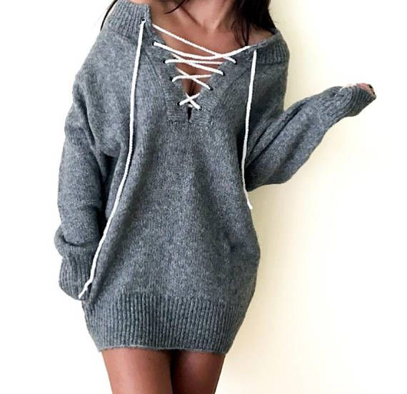 4f5e805725 One piece is ready to go! This grey sweater was made of mix yarn (acrylic