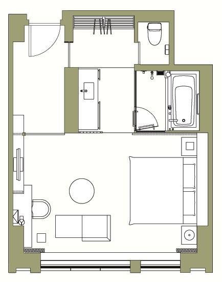 The Capitol Hotel Tokyu Tokyo Deluxe Room Hotel Room Design