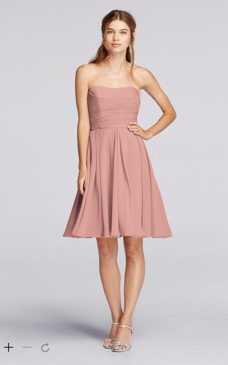 David\'s Bridal Color: Ballet $120 | W / B | Pinterest