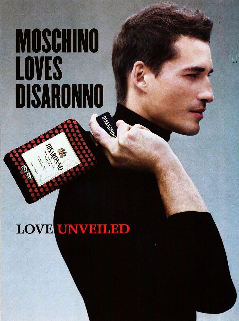 Jean Carlos Santos Fronts Moschino Loves Disaronno