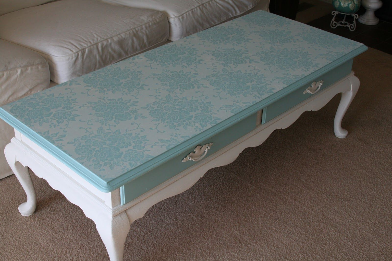 Chalk Paint Coffee Table Kitchen Design Ideas French Country