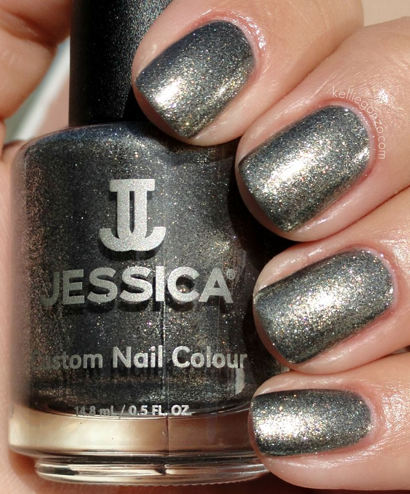Jessica Nails in Smoky Feather (Dupe for Chanel\'s Graphite) from ...