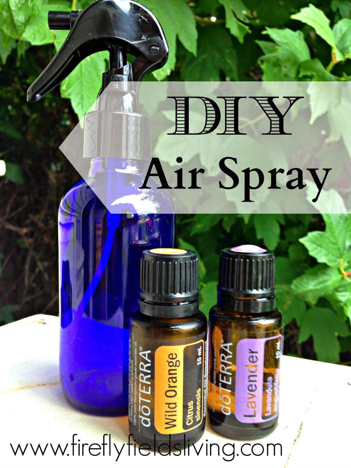 Clear The Air Diy Air Freshener Room Spray Doterra Pinterest